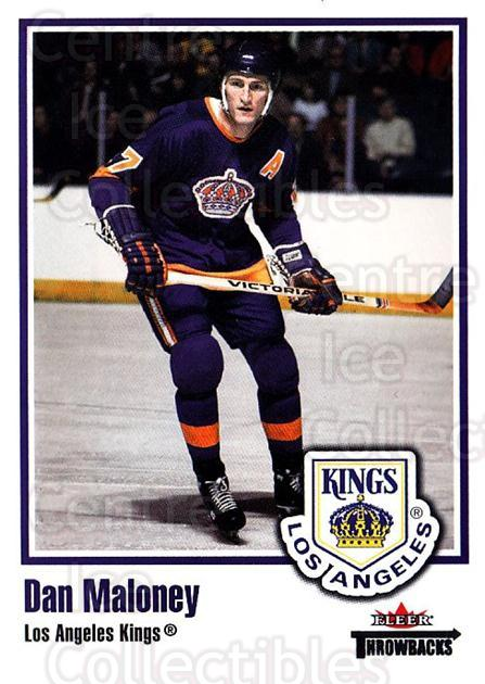 2002-03 Fleer Throwbacks #35 Dan Maloney<br/>3 In Stock - $2.00 each - <a href=https://centericecollectibles.foxycart.com/cart?name=2002-03%20Fleer%20Throwbacks%20%2335%20Dan%20Maloney...&quantity_max=3&price=$2.00&code=297737 class=foxycart> Buy it now! </a>