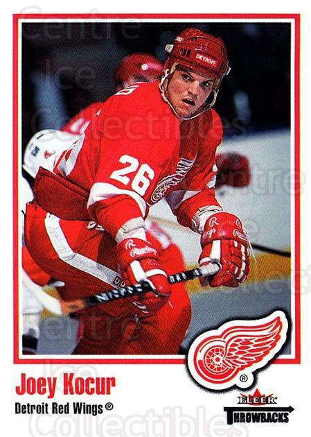 2002-03 Fleer Throwbacks #65 Joey Kocur<br/>2 In Stock - $2.00 each - <a href=https://centericecollectibles.foxycart.com/cart?name=2002-03%20Fleer%20Throwbacks%20%2365%20Joey%20Kocur...&quantity_max=2&price=$2.00&code=297767 class=foxycart> Buy it now! </a>