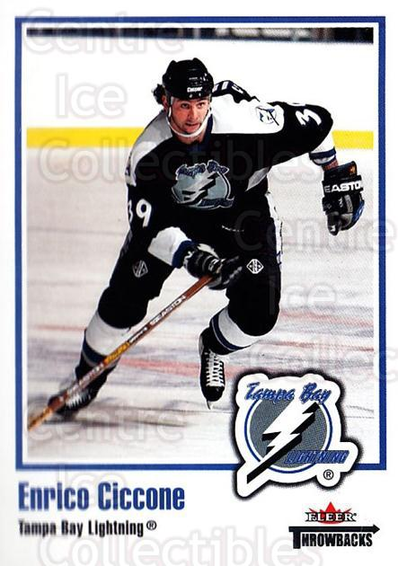 2002-03 Fleer Throwbacks #69 Enrico Ciccone<br/>2 In Stock - $2.00 each - <a href=https://centericecollectibles.foxycart.com/cart?name=2002-03%20Fleer%20Throwbacks%20%2369%20Enrico%20Ciccone...&quantity_max=2&price=$2.00&code=297771 class=foxycart> Buy it now! </a>