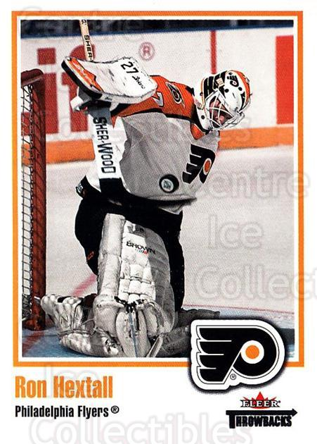 2002-03 Fleer Throwbacks #78 Ron Hextall<br/>2 In Stock - $2.00 each - <a href=https://centericecollectibles.foxycart.com/cart?name=2002-03%20Fleer%20Throwbacks%20%2378%20Ron%20Hextall...&quantity_max=2&price=$2.00&code=297780 class=foxycart> Buy it now! </a>