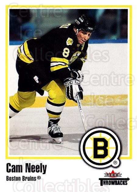 2002-03 Fleer Throwbacks #81 Cam Neely<br/>1 In Stock - $2.00 each - <a href=https://centericecollectibles.foxycart.com/cart?name=2002-03%20Fleer%20Throwbacks%20%2381%20Cam%20Neely...&quantity_max=1&price=$2.00&code=297783 class=foxycart> Buy it now! </a>