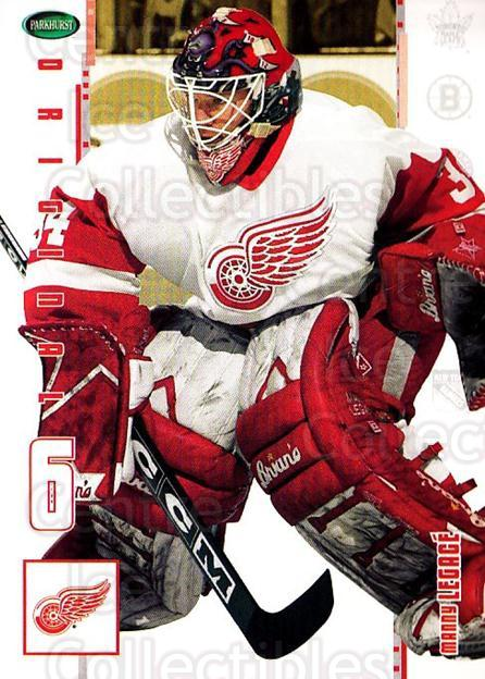 2003-04 Parkhurst Original Six Detroit Red Wings #18 Manny Legace<br/>10 In Stock - $1.00 each - <a href=https://centericecollectibles.foxycart.com/cart?name=2003-04%20Parkhurst%20Original%20Six%20Detroit%20Red%20Wings%20%2318%20Manny%20Legace...&quantity_max=10&price=$1.00&code=297812 class=foxycart> Buy it now! </a>