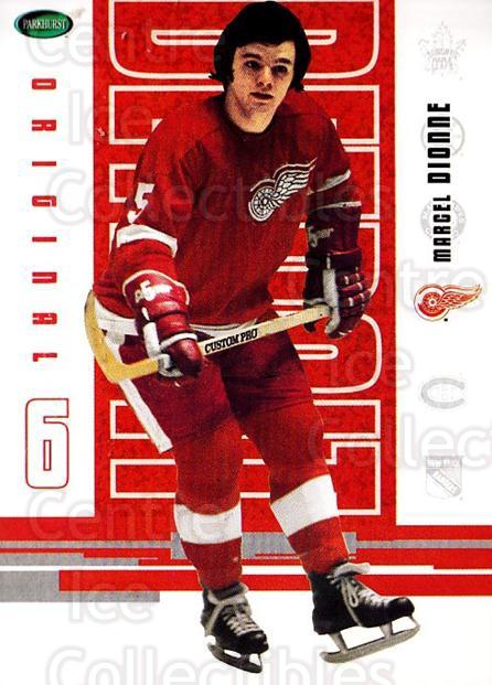 2003-04 Parkhurst Original Six Detroit Red Wings #38 Marcel Dionne<br/>7 In Stock - $1.00 each - <a href=https://centericecollectibles.foxycart.com/cart?name=2003-04%20Parkhurst%20Original%20Six%20Detroit%20Red%20Wings%20%2338%20Marcel%20Dionne...&quantity_max=7&price=$1.00&code=297832 class=foxycart> Buy it now! </a>
