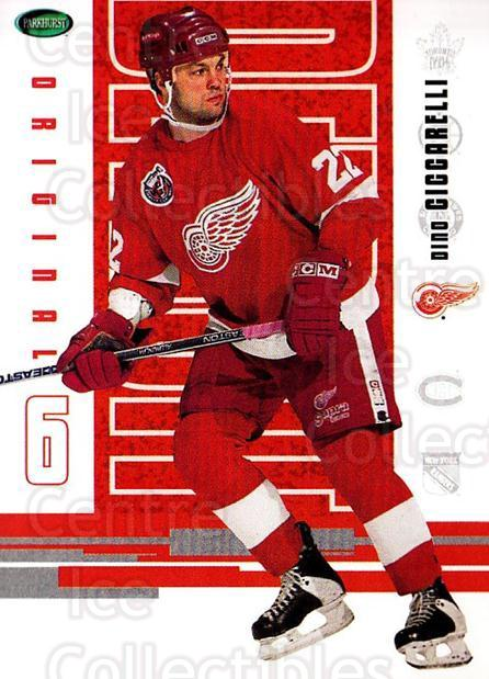 2003-04 Parkhurst Original Six Detroit Red Wings #46 Dino Ciccarelli<br/>2 In Stock - $1.00 each - <a href=https://centericecollectibles.foxycart.com/cart?name=2003-04%20Parkhurst%20Original%20Six%20Detroit%20Red%20Wings%20%2346%20Dino%20Ciccarelli...&quantity_max=2&price=$1.00&code=297840 class=foxycart> Buy it now! </a>