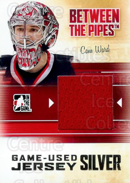 2010-11 Between The Pipes Jersey Silver #55 Cam Ward<br/>2 In Stock - $10.00 each - <a href=https://centericecollectibles.foxycart.com/cart?name=2010-11%20Between%20The%20Pipes%20Jersey%20Silver%20%2355%20Cam%20Ward...&price=$10.00&code=297905 class=foxycart> Buy it now! </a>