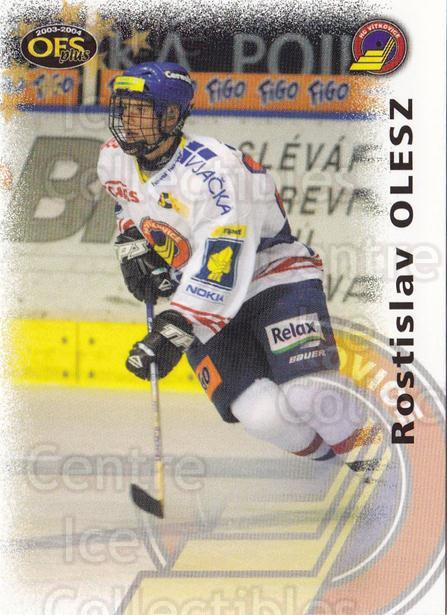 2003-04 Czech OFS #10 Rostislav Olesz<br/>5 In Stock - $2.00 each - <a href=https://centericecollectibles.foxycart.com/cart?name=2003-04%20Czech%20OFS%20%2310%20Rostislav%20Olesz...&quantity_max=5&price=$2.00&code=298073 class=foxycart> Buy it now! </a>