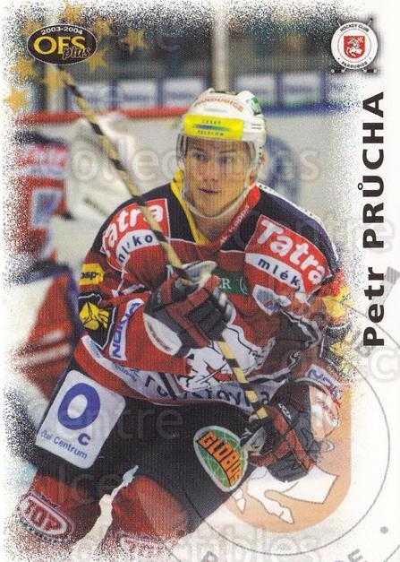 2003-04 Czech OFS #58 Petr Prucha<br/>2 In Stock - $2.00 each - <a href=https://centericecollectibles.foxycart.com/cart?name=2003-04%20Czech%20OFS%20%2358%20Petr%20Prucha...&quantity_max=2&price=$2.00&code=298085 class=foxycart> Buy it now! </a>