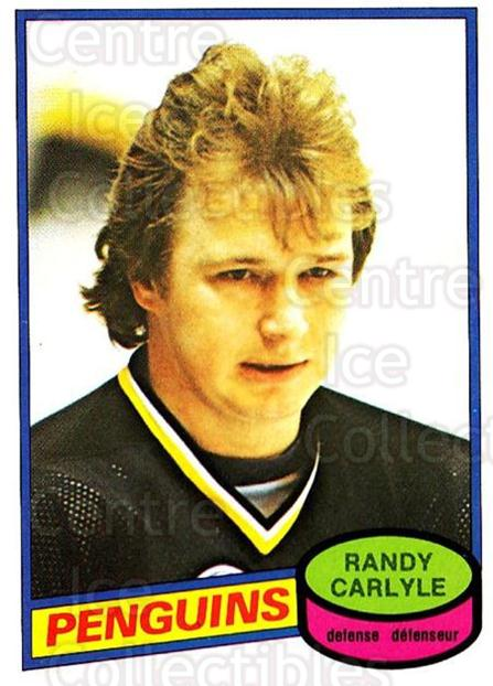 1980-81 O-Pee-Chee #367 Randy Carlyle<br/>3 In Stock - $2.00 each - <a href=https://centericecollectibles.foxycart.com/cart?name=1980-81%20O-Pee-Chee%20%23367%20Randy%20Carlyle...&quantity_max=3&price=$2.00&code=29812 class=foxycart> Buy it now! </a>