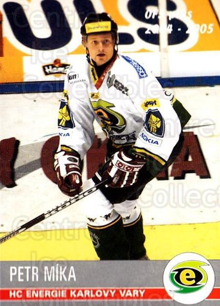 2004-05 Czech OFS #30 Petr Mika<br/>1 In Stock - $2.00 each - <a href=https://centericecollectibles.foxycart.com/cart?name=2004-05%20Czech%20OFS%20%2330%20Petr%20Mika...&quantity_max=1&price=$2.00&code=298168 class=foxycart> Buy it now! </a>