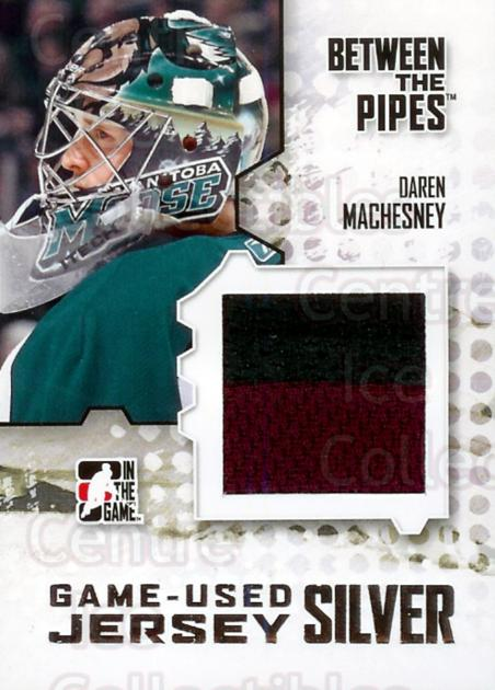 2009-10 Between The Pipes Jersey Silver #23 Daren Machesney<br/>1 In Stock - $10.00 each - <a href=https://centericecollectibles.foxycart.com/cart?name=2009-10%20Between%20The%20Pipes%20Jersey%20Silver%20%2323%20Daren%20Machesney...&quantity_max=1&price=$10.00&code=298340 class=foxycart> Buy it now! </a>