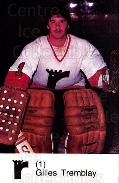 1980-81 Quebec Remparts #22 Gilles Tremblay<br/>2 In Stock - $3.00 each - <a href=https://centericecollectibles.foxycart.com/cart?name=1980-81%20Quebec%20Remparts%20%2322%20Gilles%20Tremblay...&price=$3.00&code=29857 class=foxycart> Buy it now! </a>