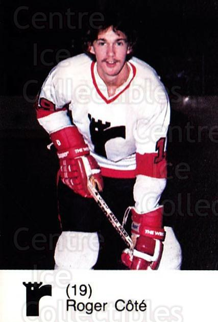 1980-81 Quebec Remparts #3 Roger Cote<br/>2 In Stock - $3.00 each - <a href=https://centericecollectibles.foxycart.com/cart?name=1980-81%20Quebec%20Remparts%20%233%20Roger%20Cote...&price=$3.00&code=29858 class=foxycart> Buy it now! </a>