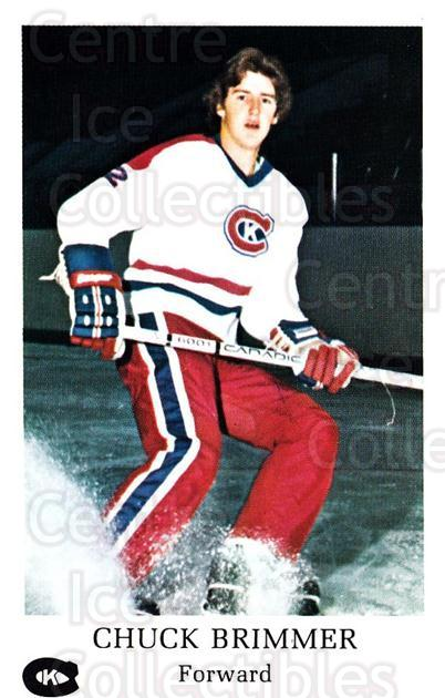 1981-82 Kingston Canadians #11 Chuck Brimmer<br/>1 In Stock - $3.00 each - <a href=https://centericecollectibles.foxycart.com/cart?name=1981-82%20Kingston%20Canadians%20%2311%20Chuck%20Brimmer...&quantity_max=1&price=$3.00&code=29880 class=foxycart> Buy it now! </a>