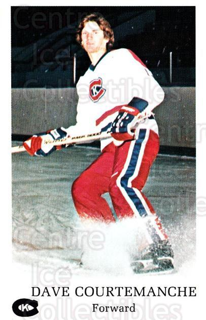 1981-82 Kingston Canadians #3 Dave Courtemanche<br/>1 In Stock - $3.00 each - <a href=https://centericecollectibles.foxycart.com/cart?name=1981-82%20Kingston%20Canadians%20%233%20Dave%20Courtemanc...&quantity_max=1&price=$3.00&code=29889 class=foxycart> Buy it now! </a>