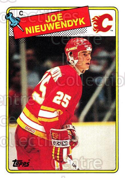 1988-89 Topps #16 Joe Nieuwendyk<br/>5 In Stock - $3.00 each - <a href=https://centericecollectibles.foxycart.com/cart?name=1988-89%20Topps%20%2316%20Joe%20Nieuwendyk...&quantity_max=5&price=$3.00&code=299146 class=foxycart> Buy it now! </a>