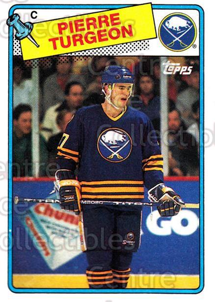 1988-89 Topps #194 Pierre Turgeon<br/>1 In Stock - $3.00 each - <a href=https://centericecollectibles.foxycart.com/cart?name=1988-89%20Topps%20%23194%20Pierre%20Turgeon...&quantity_max=1&price=$3.00&code=299152 class=foxycart> Buy it now! </a>