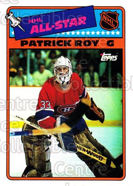 1988-89 Topps Stickers Insert #12 Patrick Roy<br/>1 In Stock - $5.00 each - <a href=https://centericecollectibles.foxycart.com/cart?name=1988-89%20Topps%20Stickers%20Insert%20%2312%20Patrick%20Roy...&price=$5.00&code=299156 class=foxycart> Buy it now! </a>