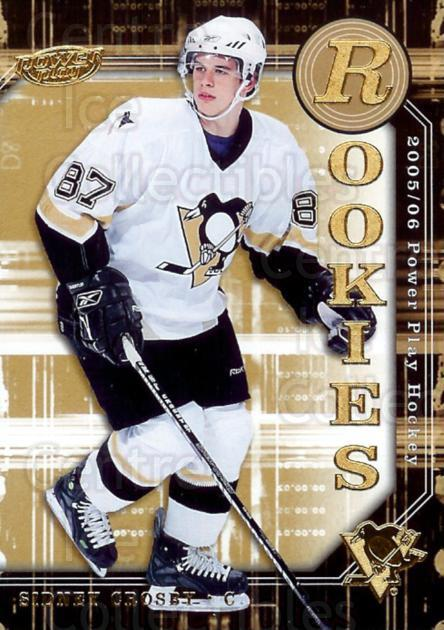 2005-06 UD Power Play #133 Sidney Crosby<br/>2 In Stock - $25.00 each - <a href=https://centericecollectibles.foxycart.com/cart?name=2005-06%20UD%20Power%20Play%20%23133%20Sidney%20Crosby...&price=$25.00&code=299272 class=foxycart> Buy it now! </a>
