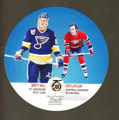 1991-92 Kraft #66 Brett Hull, Guy Lafleur<br/>15 In Stock - $2.00 each - <a href=https://centericecollectibles.foxycart.com/cart?name=1991-92%20Kraft%20%2366%20Brett%20Hull,%20Guy...&price=$2.00&code=299383 class=foxycart> Buy it now! </a>