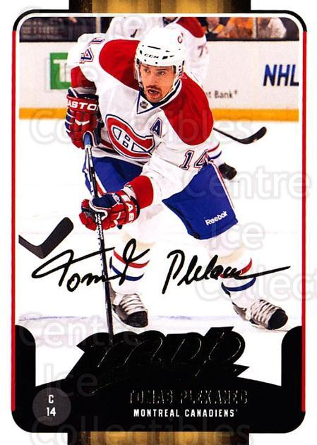 2011-12 Upper Deck MVP #43 Tomas Plekanec<br/>2 In Stock - $2.00 each - <a href=https://centericecollectibles.foxycart.com/cart?name=2011-12%20Upper%20Deck%20MVP%20%2343%20Tomas%20Plekanec...&quantity_max=2&price=$2.00&code=299469 class=foxycart> Buy it now! </a>