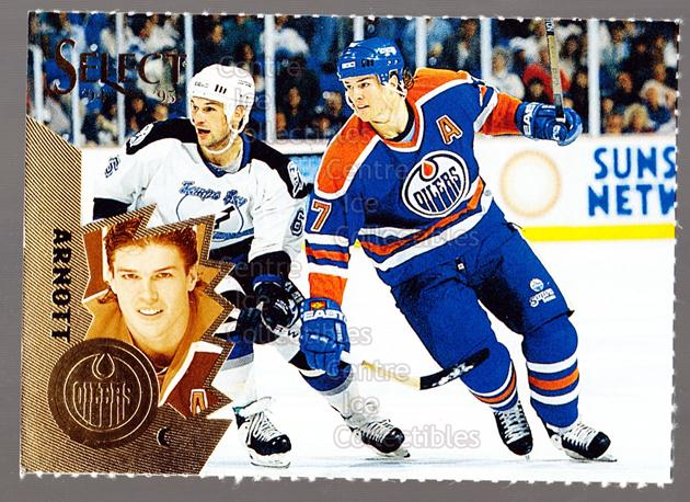 1994-95 Select Promos Magazine Perforated #7 Jason Arnott<br/>32 In Stock - $3.00 each - <a href=https://centericecollectibles.foxycart.com/cart?name=1994-95%20Select%20Promos%20Magazine%20Perforated%20%237%20Jason%20Arnott...&quantity_max=32&price=$3.00&code=299531 class=foxycart> Buy it now! </a>
