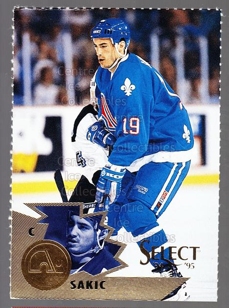 1994-95 Select Promos Magazine Perforated #8 Joe Sakic<br/>30 In Stock - $2.00 each - <a href=https://centericecollectibles.foxycart.com/cart?name=1994-95%20Select%20Promos%20Magazine%20Perforated%20%238%20Joe%20Sakic...&price=$2.00&code=299532 class=foxycart> Buy it now! </a>