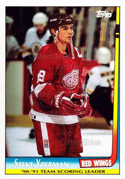1991-92 Topps Team Scoring Leaders #3 Steve Yzerman<br/>4 In Stock - $1.00 each - <a href=https://centericecollectibles.foxycart.com/cart?name=1991-92%20Topps%20Team%20Scoring%20Leaders%20%233%20Steve%20Yzerman...&price=$1.00&code=299548 class=foxycart> Buy it now! </a>