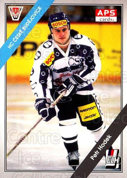 1994-95 Czech APS Extraliga #99 Petr Hodek<br/>2 In Stock - $2.00 each - <a href=https://centericecollectibles.foxycart.com/cart?name=1994-95%20Czech%20APS%20Extraliga%20%2399%20Petr%20Hodek...&quantity_max=2&price=$2.00&code=299605 class=foxycart> Buy it now! </a>