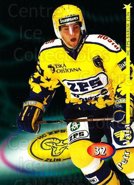 1998-99 Czech OFS #32 Petr Vala<br/>1 In Stock - $2.00 each - <a href=https://centericecollectibles.foxycart.com/cart?name=1998-99%20Czech%20OFS%20%2332%20Petr%20Vala...&quantity_max=1&price=$2.00&code=299913 class=foxycart> Buy it now! </a>