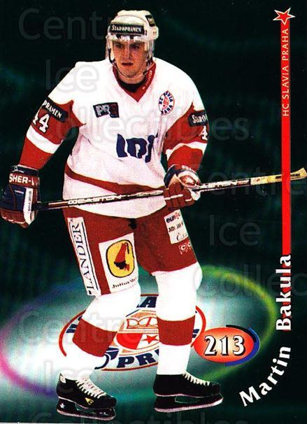 1998-99 Czech OFS #213 Martin Bakula<br/>2 In Stock - $2.00 each - <a href=https://centericecollectibles.foxycart.com/cart?name=1998-99%20Czech%20OFS%20%23213%20Martin%20Bakula...&price=$2.00&code=300094 class=foxycart> Buy it now! </a>