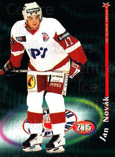 1998-99 Czech OFS #215 Jan Novak<br/>2 In Stock - $2.00 each - <a href=https://centericecollectibles.foxycart.com/cart?name=1998-99%20Czech%20OFS%20%23215%20Jan%20Novak...&price=$2.00&code=300096 class=foxycart> Buy it now! </a>