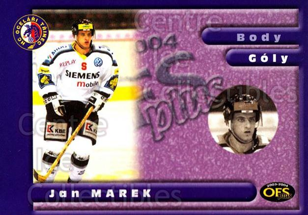 2003-04 Czech OFS Goals Leaders #5 Jan Marek<br/>1 In Stock - $2.00 each - <a href=https://centericecollectibles.foxycart.com/cart?name=2003-04%20Czech%20OFS%20Goals%20Leaders%20%235%20Jan%20Marek...&quantity_max=1&price=$2.00&code=300394 class=foxycart> Buy it now! </a>