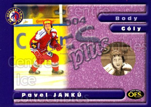 2003-04 Czech OFS Goals Leaders #10 Pavel Janku<br/>1 In Stock - $2.00 each - <a href=https://centericecollectibles.foxycart.com/cart?name=2003-04%20Czech%20OFS%20Goals%20Leaders%20%2310%20Pavel%20Janku...&quantity_max=1&price=$2.00&code=300398 class=foxycart> Buy it now! </a>