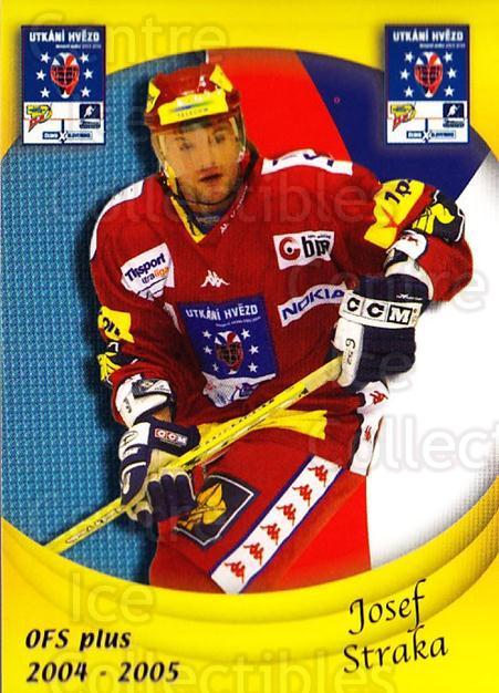 2004-05 Czech OFS Czech/Slovak AS Game #15 Josef Straka<br/>2 In Stock - $2.00 each - <a href=https://centericecollectibles.foxycart.com/cart?name=2004-05%20Czech%20OFS%20Czech/Slovak%20AS%20Game%20%2315%20Josef%20Straka...&quantity_max=2&price=$2.00&code=300531 class=foxycart> Buy it now! </a>