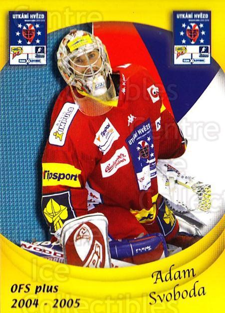2004-05 Czech OFS Czech/Slovak AS Game #17 Adam Svoboda<br/>1 In Stock - $2.00 each - <a href=https://centericecollectibles.foxycart.com/cart?name=2004-05%20Czech%20OFS%20Czech/Slovak%20AS%20Game%20%2317%20Adam%20Svoboda...&quantity_max=1&price=$2.00&code=300533 class=foxycart> Buy it now! </a>