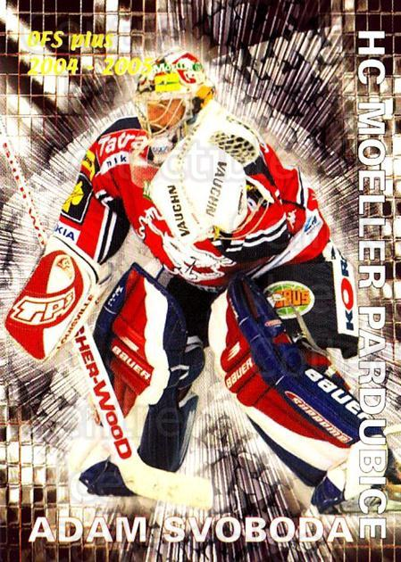 2004-05 Czech OFS Save Percentage Leaders #7 Adam Svoboda<br/>1 In Stock - $2.00 each - <a href=https://centericecollectibles.foxycart.com/cart?name=2004-05%20Czech%20OFS%20Save%20Percentage%20Leaders%20%237%20Adam%20Svoboda...&quantity_max=1&price=$2.00&code=300540 class=foxycart> Buy it now! </a>