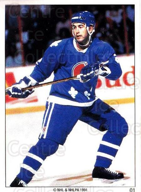 1991 Quebec Nordiques Panini Team Stickers #1 Joe Cirella<br/>4 In Stock - $3.00 each - <a href=https://centericecollectibles.foxycart.com/cart?name=1991%20Quebec%20Nordiques%20Panini%20Team%20Stickers%20%231%20Joe%20Cirella...&quantity_max=4&price=$3.00&code=30102 class=foxycart> Buy it now! </a>