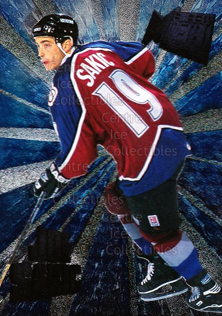1995-96 Metal Heavy Metal #12 Joe Sakic<br/>4 In Stock - $3.00 each - <a href=https://centericecollectibles.foxycart.com/cart?name=1995-96%20Metal%20Heavy%20Metal%20%2312%20Joe%20Sakic...&price=$3.00&code=301065 class=foxycart> Buy it now! </a>