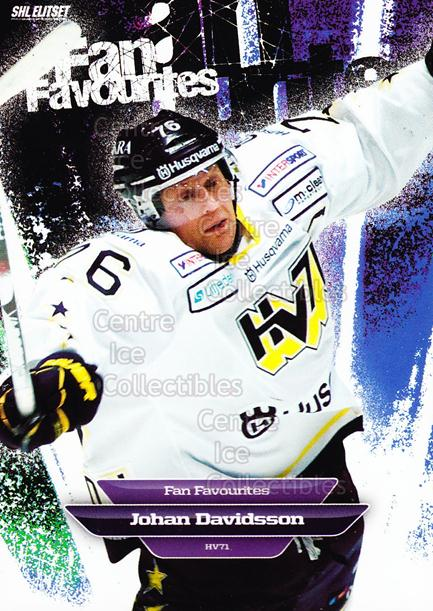 2011-12 Swedish Elitset Fan Favourites #6 Johan Davidsson<br/>2 In Stock - $3.00 each - <a href=https://centericecollectibles.foxycart.com/cart?name=2011-12%20Swedish%20Elitset%20Fan%20Favourites%20%236%20Johan%20Davidsson...&price=$3.00&code=301434 class=foxycart> Buy it now! </a>