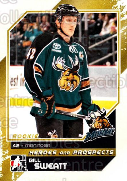 2010-11 ITG Heroes and Prospects #153 Bill Sweatt<br/>38 In Stock - $1.00 each - <a href=https://centericecollectibles.foxycart.com/cart?name=2010-11%20ITG%20Heroes%20and%20Prospects%20%23153%20Bill%20Sweatt...&quantity_max=38&price=$1.00&code=301611 class=foxycart> Buy it now! </a>