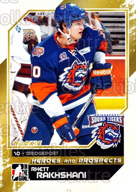 2010-11 ITG Heroes and Prospects #156 Rhett Rakhshani<br/>41 In Stock - $1.00 each - <a href=https://centericecollectibles.foxycart.com/cart?name=2010-11%20ITG%20Heroes%20and%20Prospects%20%23156%20Rhett%20Rakhshani...&price=$1.00&code=301614 class=foxycart> Buy it now! </a>