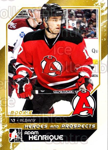 2010-11 ITG Heroes and Prospects #160 Adam Henrique<br/>30 In Stock - $2.00 each - <a href=https://centericecollectibles.foxycart.com/cart?name=2010-11%20ITG%20Heroes%20and%20Prospects%20%23160%20Adam%20Henrique...&quantity_max=30&price=$2.00&code=301618 class=foxycart> Buy it now! </a>