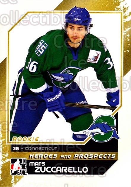 2010-11 ITG Heroes and Prospects #161 Mats Zuccarello<br/>44 In Stock - $1.00 each - <a href=https://centericecollectibles.foxycart.com/cart?name=2010-11%20ITG%20Heroes%20and%20Prospects%20%23161%20Mats%20Zuccarello...&quantity_max=44&price=$1.00&code=301619 class=foxycart> Buy it now! </a>
