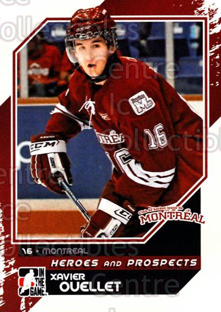 2010-11 ITG Heroes and Prospects #183 Xavier Ouellet<br/>42 In Stock - $1.00 each - <a href=https://centericecollectibles.foxycart.com/cart?name=2010-11%20ITG%20Heroes%20and%20Prospects%20%23183%20Xavier%20Ouellet...&quantity_max=42&price=$1.00&code=301641 class=foxycart> Buy it now! </a>