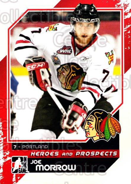 2010-11 ITG Heroes and Prospects #194 Joe Morrow<br/>22 In Stock - $1.00 each - <a href=https://centericecollectibles.foxycart.com/cart?name=2010-11%20ITG%20Heroes%20and%20Prospects%20%23194%20Joe%20Morrow...&quantity_max=22&price=$1.00&code=301652 class=foxycart> Buy it now! </a>