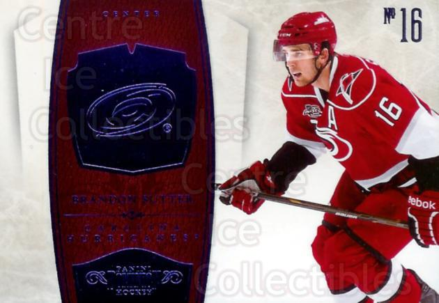 2010-11 Dominion Sapphire #19 Brandon Sutter<br/>1 In Stock - $10.00 each - <a href=https://centericecollectibles.foxycart.com/cart?name=2010-11%20Dominion%20Sapphire%20%2319%20Brandon%20Sutter...&price=$10.00&code=301726 class=foxycart> Buy it now! </a>
