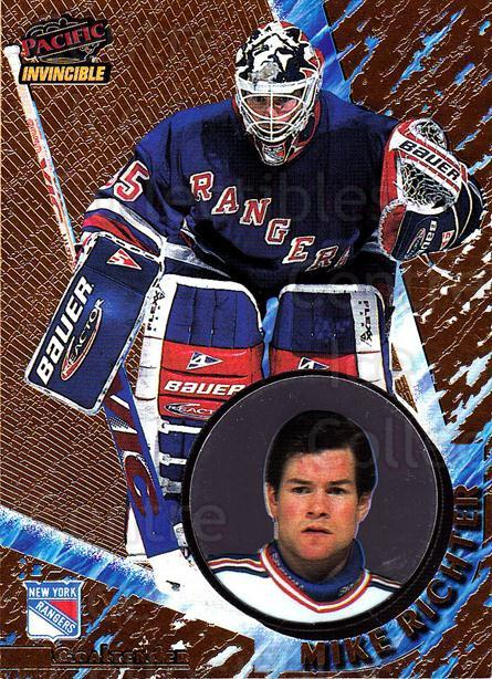 1997-98 Invincible #90 Mike Richter<br/>2 In Stock - $1.00 each - <a href=https://centericecollectibles.foxycart.com/cart?name=1997-98%20Invincible%20%2390%20Mike%20Richter...&quantity_max=2&price=$1.00&code=301809 class=foxycart> Buy it now! </a>