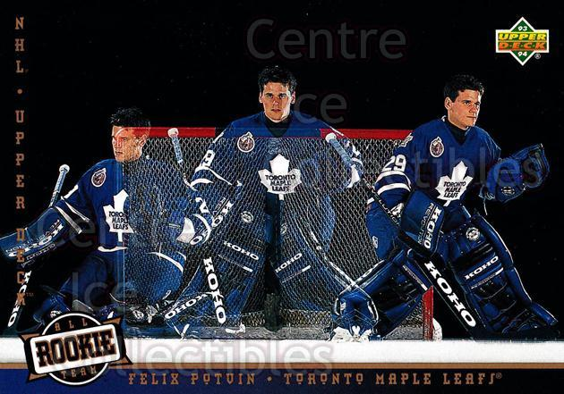1993-94 Upper Deck #285 Felix Potvin<br/>6 In Stock - $1.00 each - <a href=https://centericecollectibles.foxycart.com/cart?name=1993-94%20Upper%20Deck%20%23285%20Felix%20Potvin...&quantity_max=6&price=$1.00&code=301932 class=foxycart> Buy it now! </a>