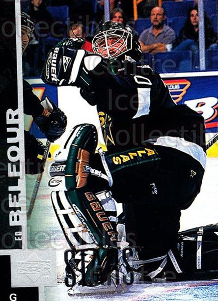 1997-98 Upper Deck #259 Ed Belfour<br/>14 In Stock - $1.00 each - <a href=https://centericecollectibles.foxycart.com/cart?name=1997-98%20Upper%20Deck%20%23259%20Ed%20Belfour...&price=$1.00&code=301939 class=foxycart> Buy it now! </a>