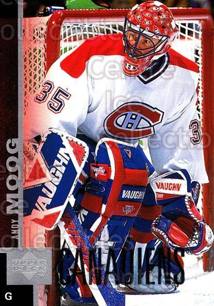 1997-98 Upper Deck #294 Andy Moog<br/>11 In Stock - $1.00 each - <a href=https://centericecollectibles.foxycart.com/cart?name=1997-98%20Upper%20Deck%20%23294%20Andy%20Moog...&quantity_max=11&price=$1.00&code=301942 class=foxycart> Buy it now! </a>